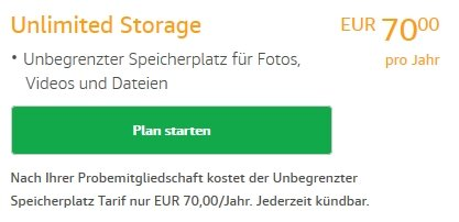 Amazon Drive Unlimited Storage