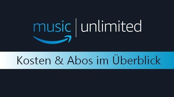 Amazon Unlimited Kosten