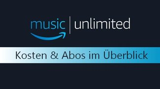 Amazon Music Unlimited: Kosten des Musik-Streaming-Dienstes