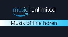Amazon Music Unlimited offline nutzen - So geht's