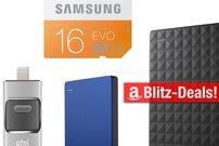 Blitzangebote:<b> Desktop-Speicher mit bis zu 4 Terabyte, Lightning-Flash-Drive und mehr heute günstiger</b></b>