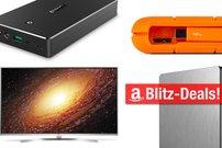 Blitzangebote:<b> LaCie Rugged Thunderbolt-Festplatte, Quick-Charge-Akku und mehr heute günstiger</b></b>
