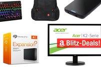 Blitzangebote:<b> Festplattengehäuse, 27-Zoll-Bildschirm, Rucksäcke und mehr heute günstiger</b></b>