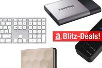 Sonntagsangebote:<b> Apple-Keyboard, externe SSD mit 1 TB Speicher, USB-Hub u.v.m. heute vergünstigt</b></b>