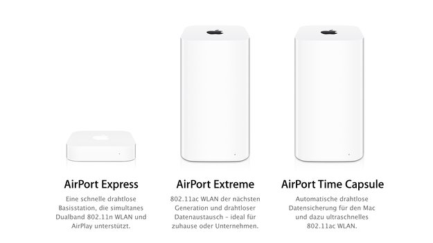 Apple stellt angeblich Entwicklung von AirPort-Routern ein
