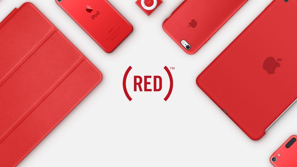 Welt-AIDS-Tag: Unterstützung von Apple und (Product)RED