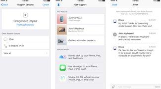 Apple Support: Neue iOS-App verspricht einfachere Hilfe bei Problemen
