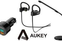 Amazon: BT-In-Ear-Kopfhörer, Tischleuchte, KFZ-Ladegerät – Bis zu 37 Prozent auf Aukey-Produkte sparen