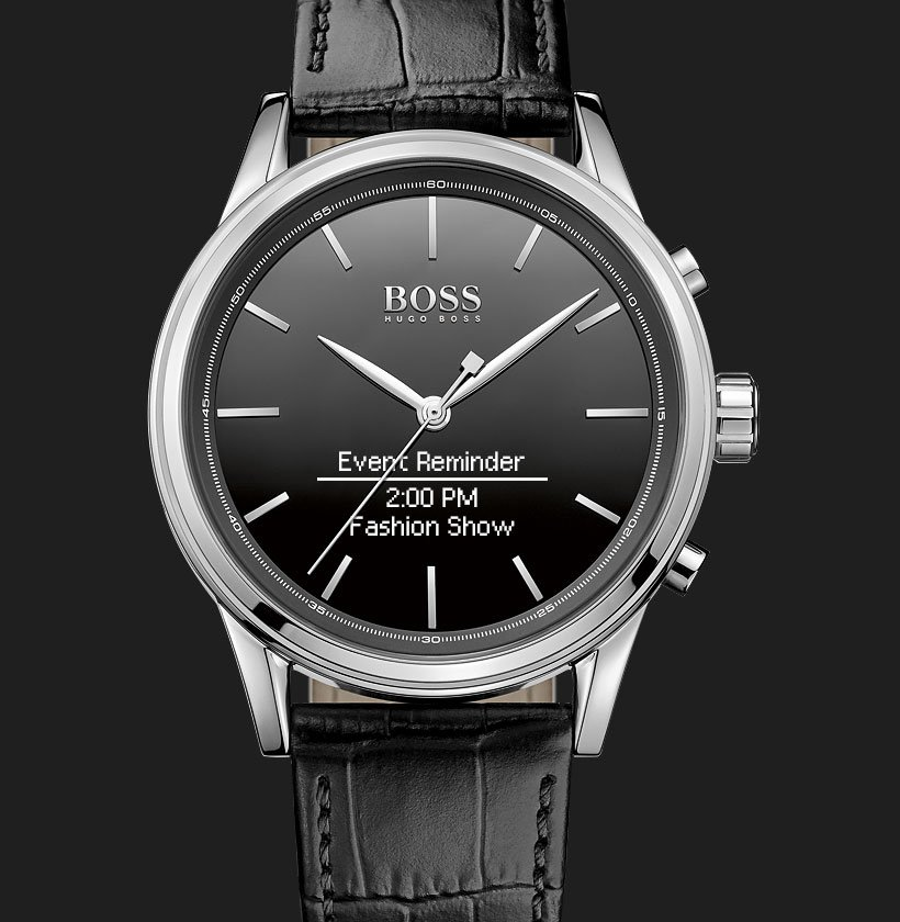 BOSS-Classic-Smart-Watch-Engineered by HP