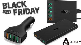 Amazon: Smartphone-Zubehör von Aukey stark reduziert – Quick-Charge-Ladegeräte, Powerbanks und mehr
