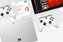 Cyber Monday bei Microsoft:<b> Surface Pro 4 bis zu 519 Euro günstiger, Xbox One (S) mit Spielen und Zubehör ab 229 Euro </b></b>
