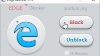 Edge Blocker kann Edge deaktivieren