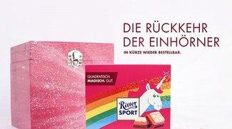 Ritter Sport: Einhorn-Schokolade günstig online kaufen: Wo und wie?