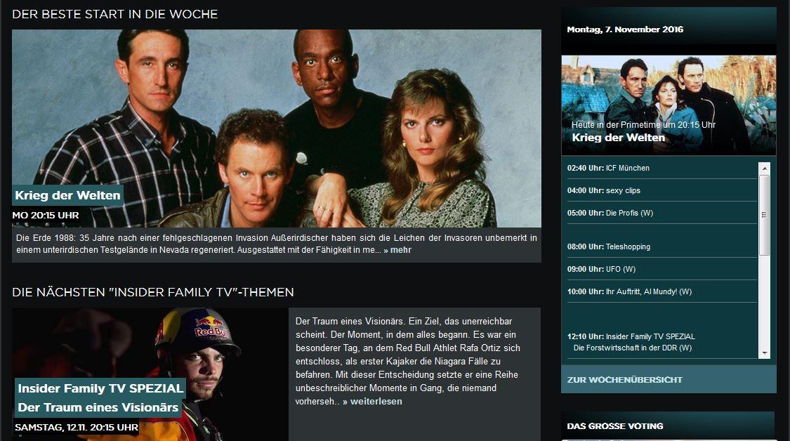 Programm Family Tv