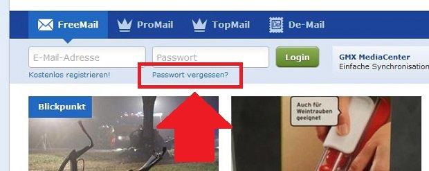 e mail passwort vergessen so bekommt ihr es wieder giga. Black Bedroom Furniture Sets. Home Design Ideas