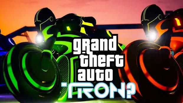 GTA 5 mit Hyper-Speed: Futuristische Tron-Rennen in GTA Online gestartet