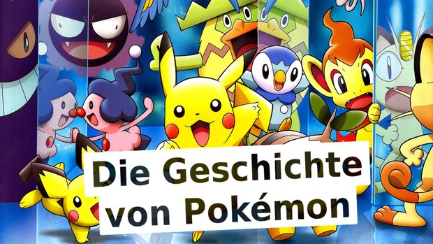 Die Geschichte von Pokémon: Wir lassen alle Titel nochmal Revue passieren
