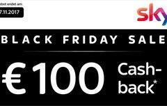 Black Friday Sale bei Sky: Alle Premiumpakete in HD inkl. 100 € Gutschrift