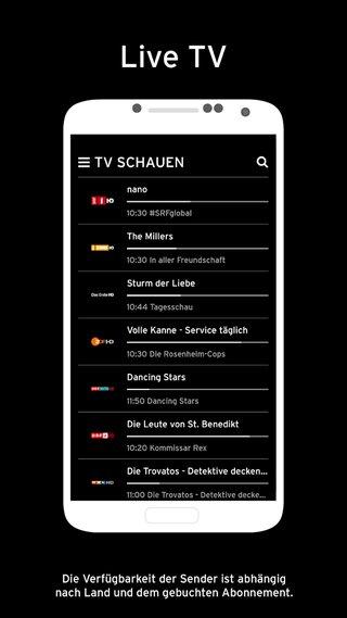 Horizon Go App Live-Stream TV