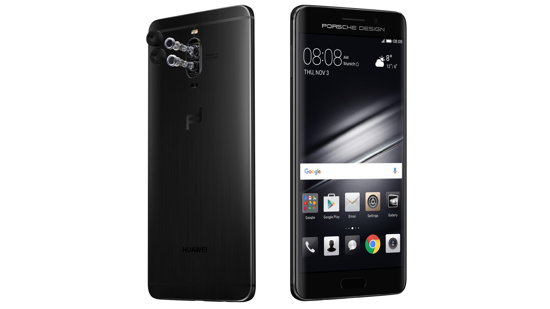 Huawei Mate 9 Porsche Design: Luxus-Version mit Dual-Edge ...