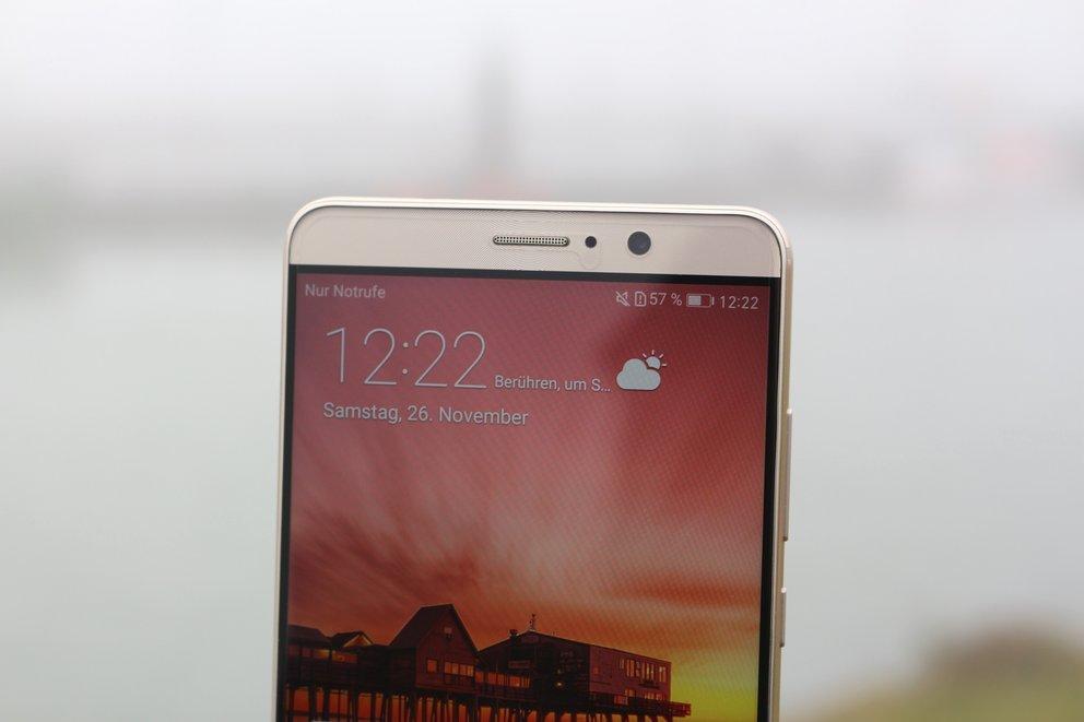 Huawei Mate 9 Test Frontkamera Nah