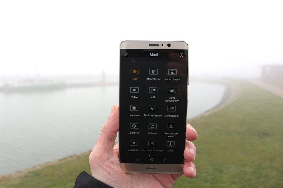 Huawei Mate 9 Test Kamera Modi