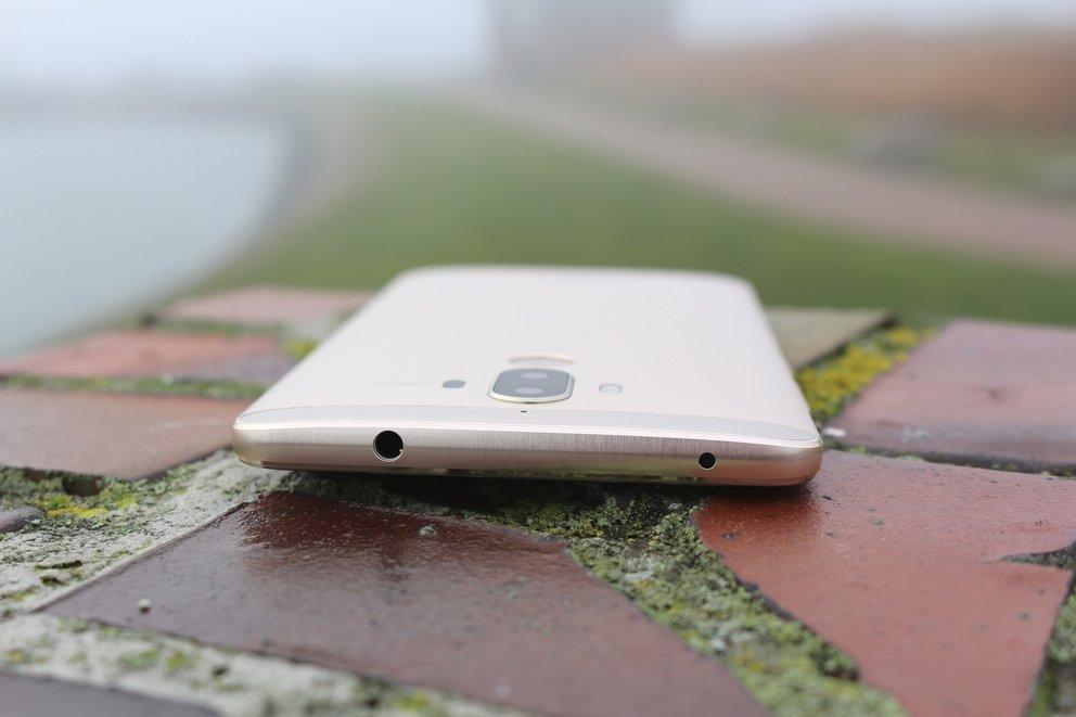 Huawei Mate 9 Test Oberseite