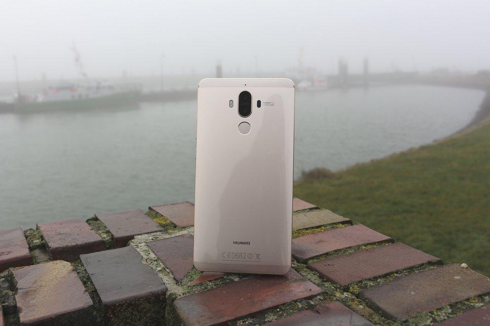 Huawei Mate 9 Test Rueckseite