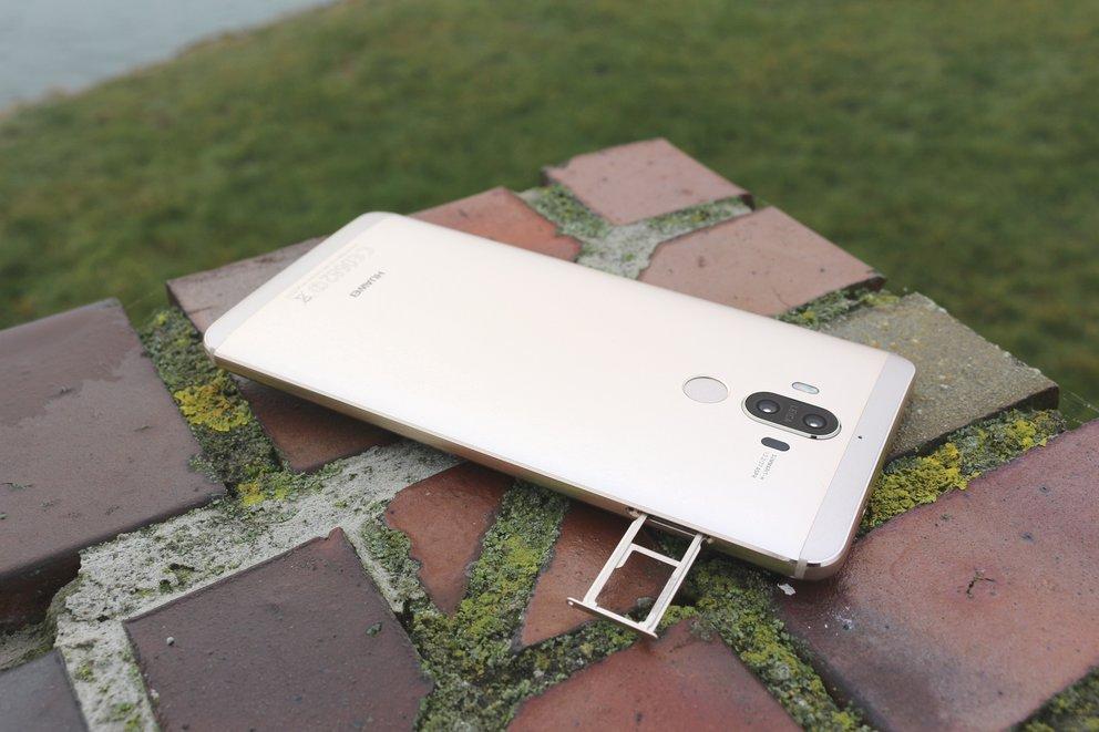 Huawei Mate 9 Test SIM Speicher