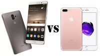 Huawei Mate 9 vs. iPhone 7 Plus: High-End-Phablets im Vergleich