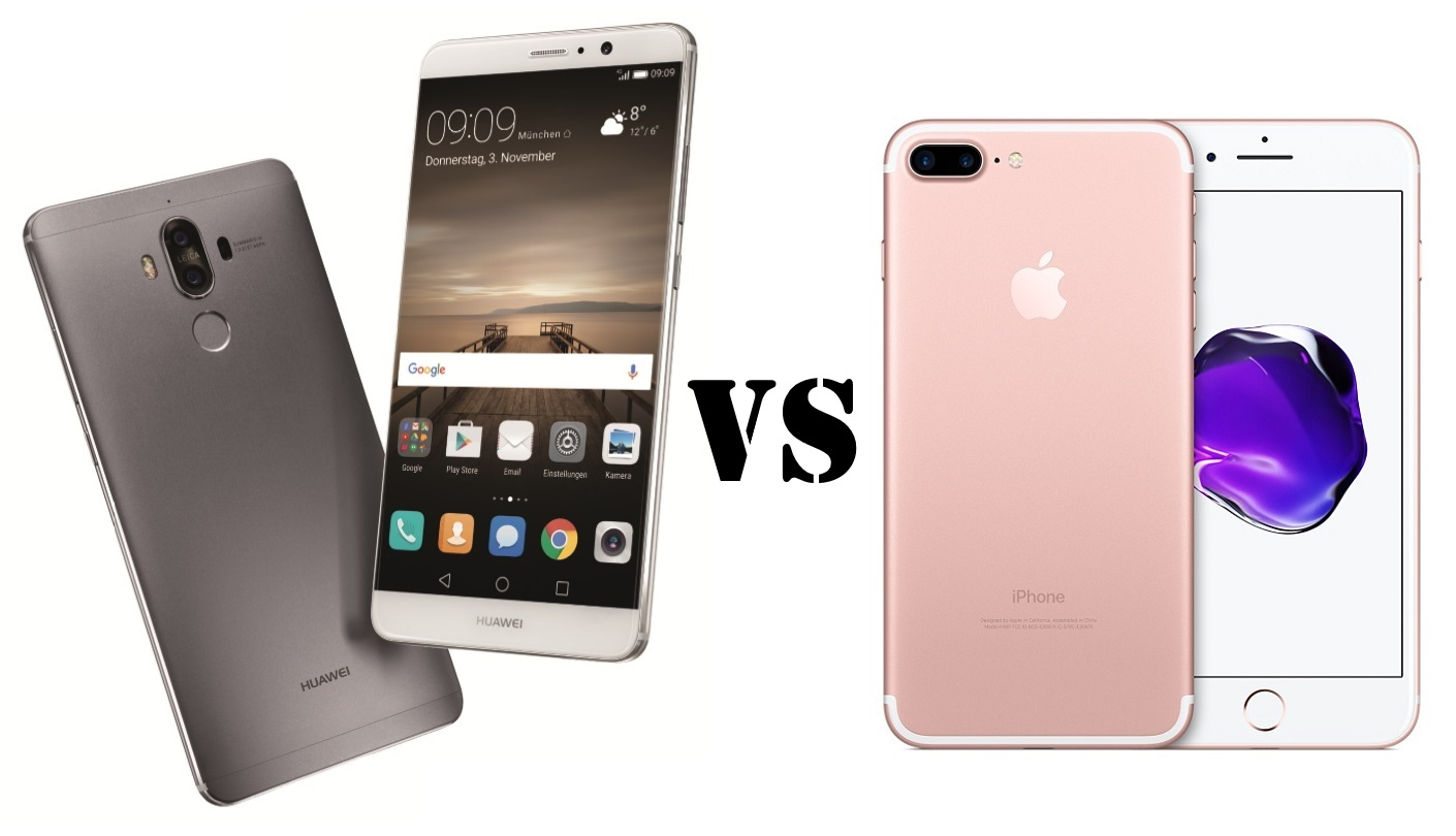 Huawei Mate 9 Vs IPhone 7 Plus
