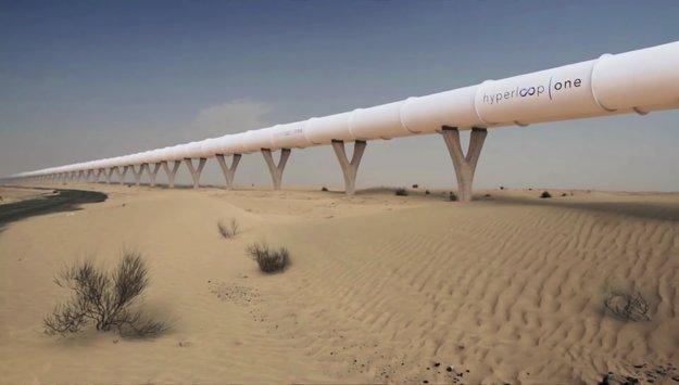 Hyperloop One: Von Dubai nach Abu Dhabi in 12 Minuten