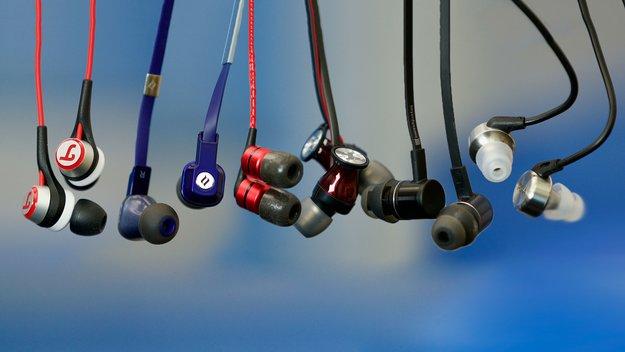 In-Ear-Kopfhörer 2016 im Test: 6 Modelle zwischen 50 und 100 Euro im Vergleich