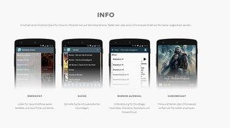 Kinocast-App: Kostenloser Download für Android und Chromecast: Ist das legal?