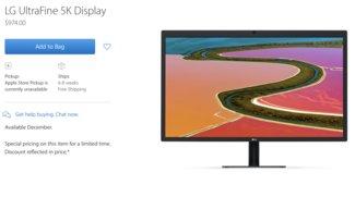LGs UltraFine 5K Display kann in den USA ab sofort bestellt werden