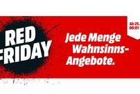 Red Friday bei Media Markt: PS4 für 196 Euro, Samsung Galaxy S7 für 399 Euro und viele weitere Kracher