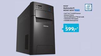 ALDI-PC: Medion Akoya P5360 E ab heute für 599 Euro erhältlich