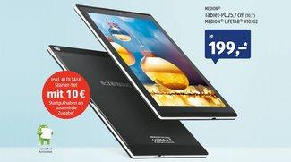 ALDI-Tablet: Medion Lifetab X10302 mit LTE für 199 Euro ab morgen erhältlich