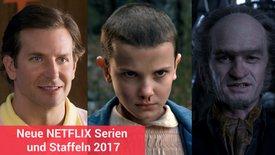 Netflix Serien und Staffeln 2017