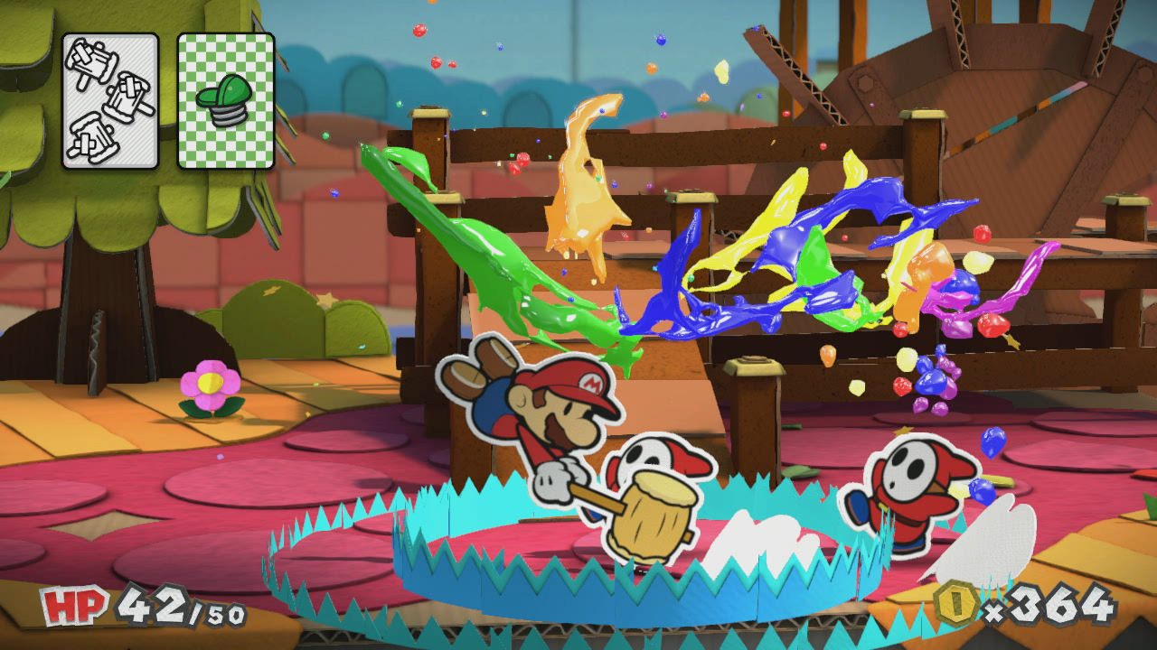 Paper Mario Color Splash Alle Dings Karten Und Deren Fundorte Giga