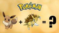 So toll sieht es aus, wenn zwei Pokémon miteinander gekreuzt werden
