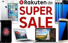 Rakuten SUPER SALE: 15 Prozent auf Alles – auch auf Apple MacBooks und iPhones!