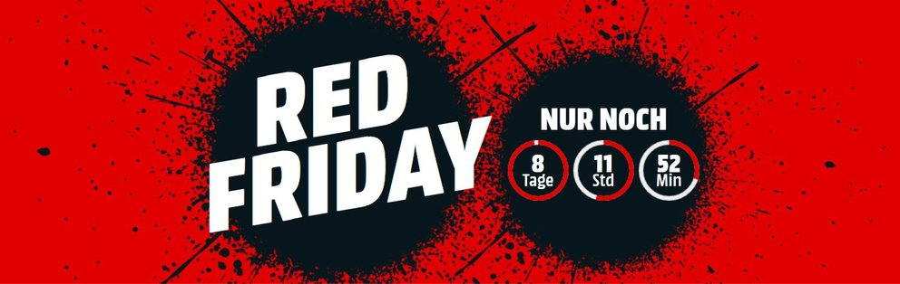 Red Friday bei Media Markt Black Friday