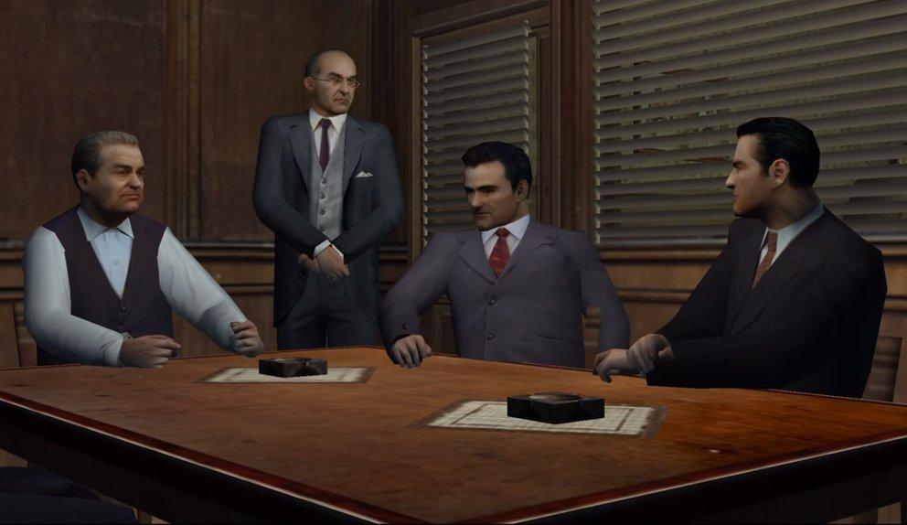 Die Story von Mafia lebt vor allem von Tommys Verhältnis mit seinem Freunden und Kollegen.