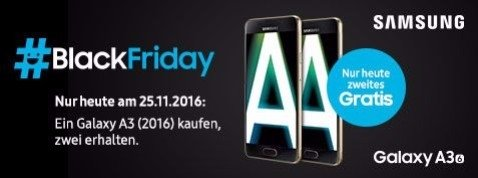 Samsung Galaxy A 2016 Black Friday
