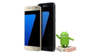 Samsung Galaxy S7 (edge): Nougat-Update erreicht die ersten Nutzer