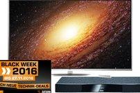 Saturn Black Week Tagesangebote: LG 65UH8509 65 Zoll UHD für 1.799 Euro (Bestpreis!) und weitere Deals