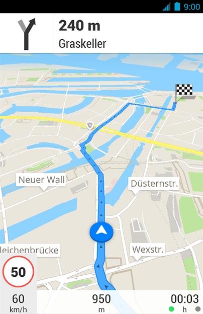 Tacho Apps Geschwindigkeit Per Gps Messen Fahrrad Auto Giga