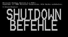 Shutdown Befehl: Windows per CMD herunterfahren - So geht's