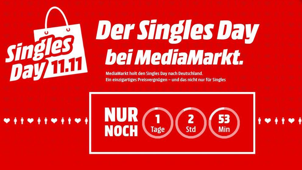 """""""Singles Day"""" bei MediaMarkt: Ausgewählte Produkte zum Hammer-Preis, nur 13 Stunden lang"""